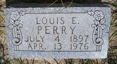 PERRY, LOUIS E. - Montgomery County, Kansas | LOUIS E. PERRY - Kansas Gravestone Photos