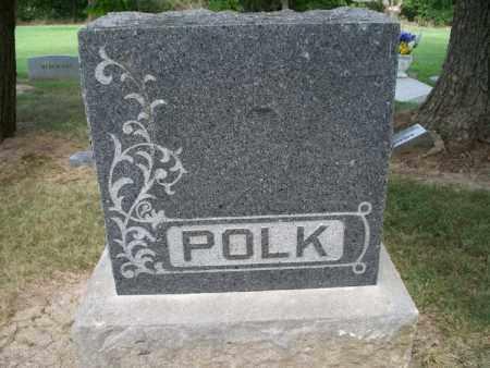POLK FAMILY STONE,  - Montgomery County, Kansas    POLK FAMILY STONE - Kansas Gravestone Photos
