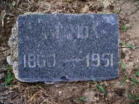 POLK, AMANDA - Montgomery County, Kansas | AMANDA POLK - Kansas Gravestone Photos