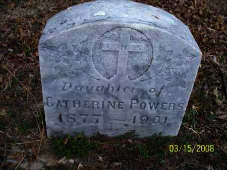 POWERS, DAUGHTER - Montgomery County, Kansas | DAUGHTER POWERS - Kansas Gravestone Photos