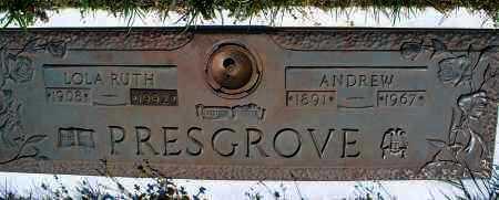 PRESGROVE, ANDREW - Montgomery County, Kansas | ANDREW PRESGROVE - Kansas Gravestone Photos