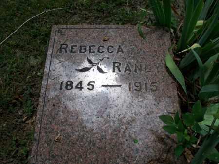 RANEY, REBECCA - Montgomery County, Kansas | REBECCA RANEY - Kansas Gravestone Photos