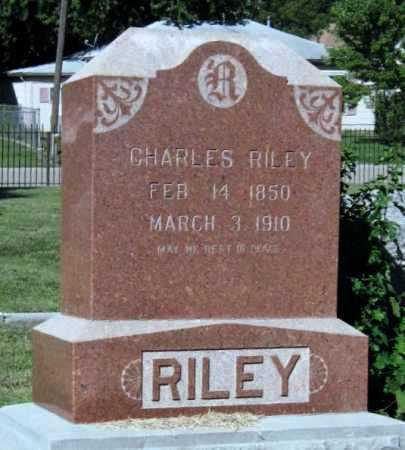 RILEY, CHARLES - Montgomery County, Kansas | CHARLES RILEY - Kansas Gravestone Photos