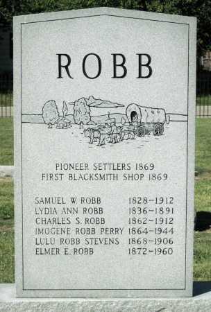 ROBB, LYDIA ANN - Montgomery County, Kansas | LYDIA ANN ROBB - Kansas Gravestone Photos
