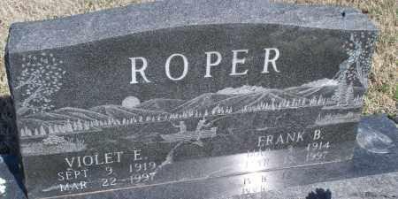 ROPER, VIOLET E. - Montgomery County, Kansas | VIOLET E. ROPER - Kansas Gravestone Photos