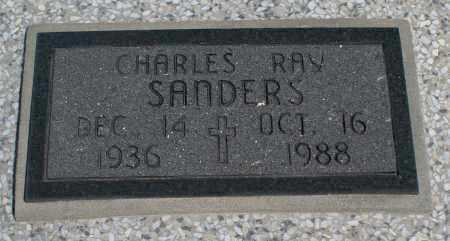 SANDERS, CHARLES RAY - Montgomery County, Kansas | CHARLES RAY SANDERS - Kansas Gravestone Photos