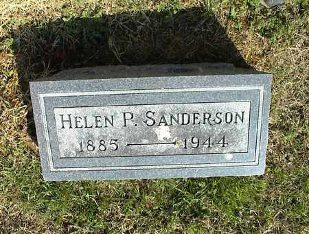 SANDERSON, HELEN P. - Montgomery County, Kansas | HELEN P. SANDERSON - Kansas Gravestone Photos