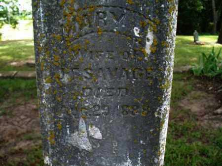 SAVAGE, MARY J - Montgomery County, Kansas   MARY J SAVAGE - Kansas Gravestone Photos