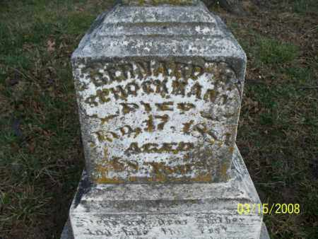SCHOCKMANN, BERNARD H - Montgomery County, Kansas | BERNARD H SCHOCKMANN - Kansas Gravestone Photos