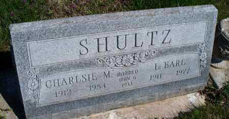 SCHULTZ, CHARLSIE M. - Montgomery County, Kansas | CHARLSIE M. SCHULTZ - Kansas Gravestone Photos