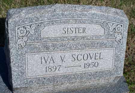 SCOVEL, IVA V. - Montgomery County, Kansas   IVA V. SCOVEL - Kansas Gravestone Photos