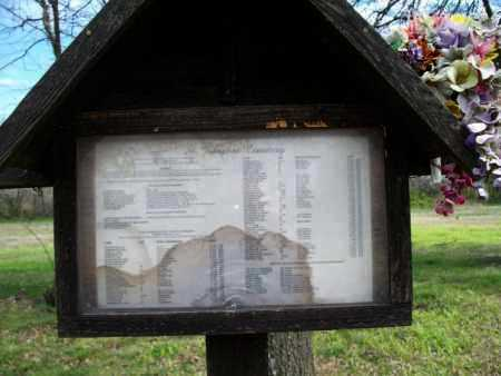 *SIGN, ST. JOSAPHAT DIRECTORY - Montgomery County, Kansas   ST. JOSAPHAT DIRECTORY *SIGN - Kansas Gravestone Photos