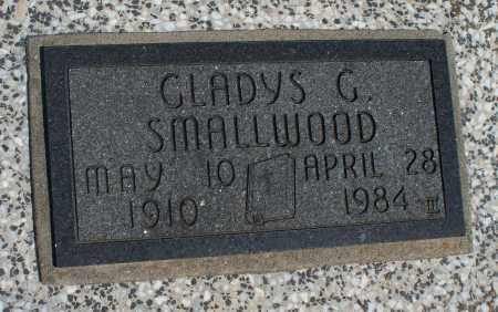 SMALLWOOD, GLADYS G. - Montgomery County, Kansas | GLADYS G. SMALLWOOD - Kansas Gravestone Photos