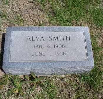 SMITH, ALVA - Montgomery County, Kansas | ALVA SMITH - Kansas Gravestone Photos