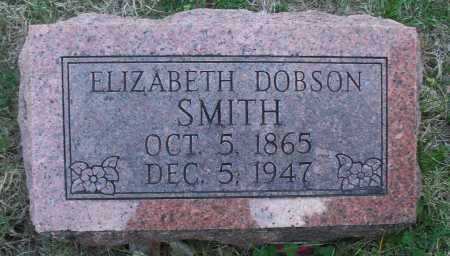 SMITH, ELIZABETH - Montgomery County, Kansas | ELIZABETH SMITH - Kansas Gravestone Photos