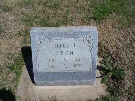 SMITH, JAMES L - Montgomery County, Kansas   JAMES L SMITH - Kansas Gravestone Photos
