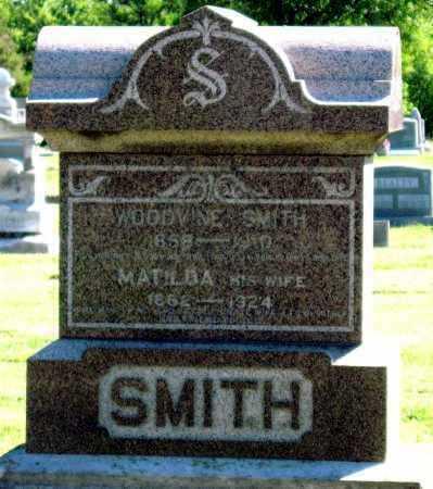 SMITH, MATILDA - Montgomery County, Kansas | MATILDA SMITH - Kansas Gravestone Photos