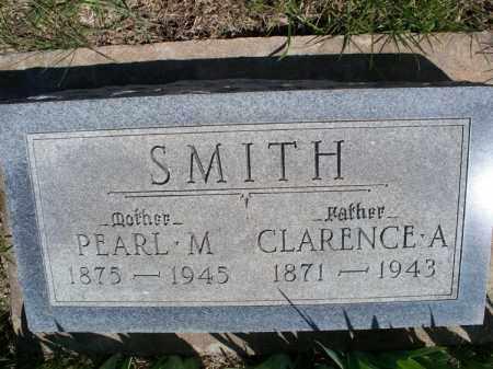 SMITH, CLARENCE A - Montgomery County, Kansas | CLARENCE A SMITH - Kansas Gravestone Photos