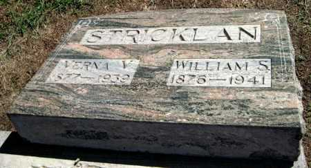 STRICKLAN, WILLIAM S - Montgomery County, Kansas | WILLIAM S STRICKLAN - Kansas Gravestone Photos