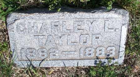 TAYLOR, CHARLEY L - Montgomery County, Kansas | CHARLEY L TAYLOR - Kansas Gravestone Photos