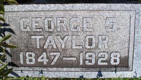 TAYLOR, GEORGE S - Montgomery County, Kansas | GEORGE S TAYLOR - Kansas Gravestone Photos
