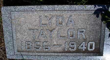 TAYLOR, LYDA - Montgomery County, Kansas | LYDA TAYLOR - Kansas Gravestone Photos