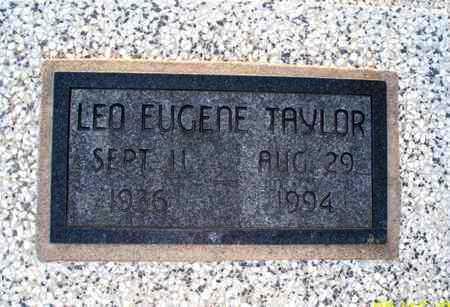 TAYLOR, LEO EUGENE - Montgomery County, Kansas | LEO EUGENE TAYLOR - Kansas Gravestone Photos
