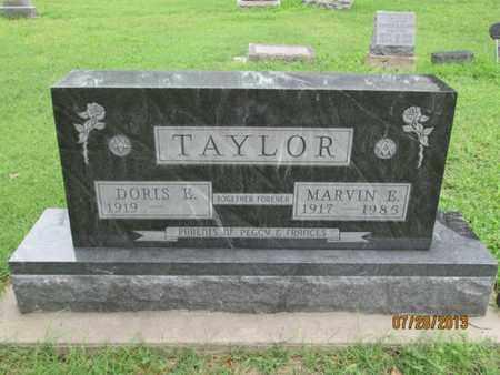 TAYLOR, DORIS E - Montgomery County, Kansas | DORIS E TAYLOR - Kansas Gravestone Photos