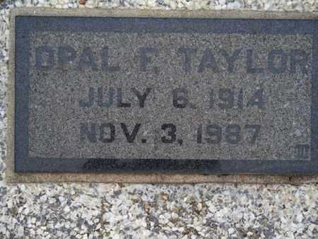 TAYLOR, OPAL F - Montgomery County, Kansas | OPAL F TAYLOR - Kansas Gravestone Photos