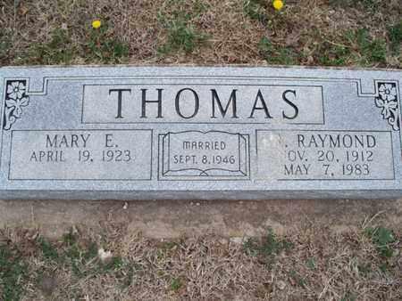 THOMAS, RAYMOND - Montgomery County, Kansas | RAYMOND THOMAS - Kansas Gravestone Photos