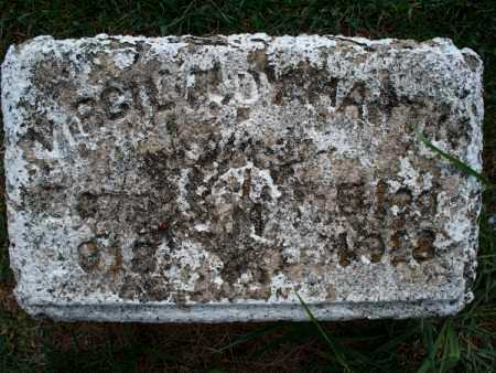 UNKNOWN, VIRGIL - Montgomery County, Kansas | VIRGIL UNKNOWN - Kansas Gravestone Photos