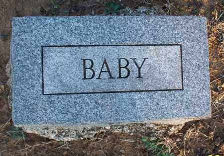 UNKNOWN, BABY - Montgomery County, Kansas   BABY UNKNOWN - Kansas Gravestone Photos