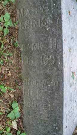 UNKNOWN, FRANK H - Montgomery County, Kansas | FRANK H UNKNOWN - Kansas Gravestone Photos