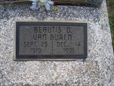 VAN BUREN, BEAUTIS O. - Montgomery County, Kansas   BEAUTIS O. VAN BUREN - Kansas Gravestone Photos