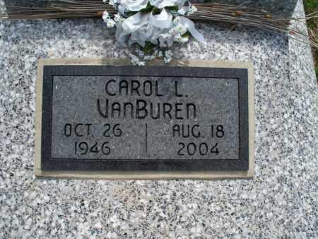 VANBUREN, CAROL L. - Montgomery County, Kansas | CAROL L. VANBUREN - Kansas Gravestone Photos