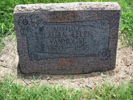VAN HOOSE, LAURA ELLEN - Montgomery County, Kansas | LAURA ELLEN VAN HOOSE - Kansas Gravestone Photos
