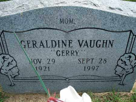 "VAUGHN, GERALDINE ""GERRY"" - Montgomery County, Kansas 