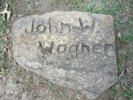 WAGNER, JOHN W. - Montgomery County, Kansas   JOHN W. WAGNER - Kansas Gravestone Photos