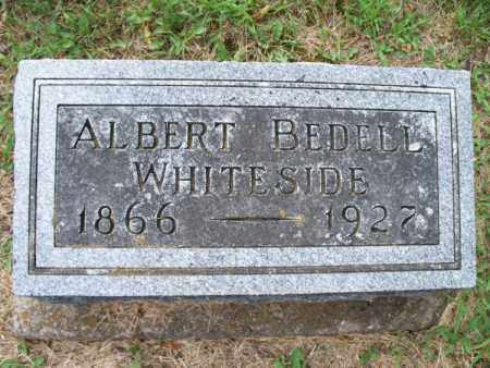WHITESIDE, ALBERT BEDELL - Montgomery County, Kansas | ALBERT BEDELL WHITESIDE - Kansas Gravestone Photos