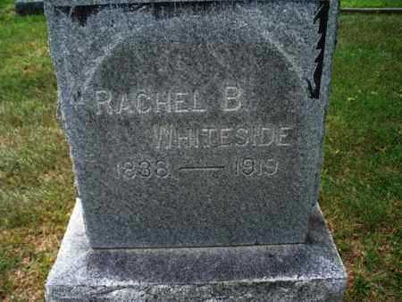 WHITESIDE, RACHEL B. - Montgomery County, Kansas | RACHEL B. WHITESIDE - Kansas Gravestone Photos
