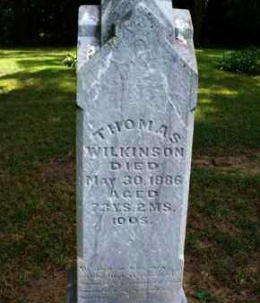 WILKINSON, THOMAS - Montgomery County, Kansas | THOMAS WILKINSON - Kansas Gravestone Photos