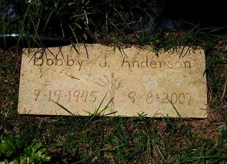 ANDERSON, BOBBY J - Morton County, Kansas | BOBBY J ANDERSON - Kansas Gravestone Photos