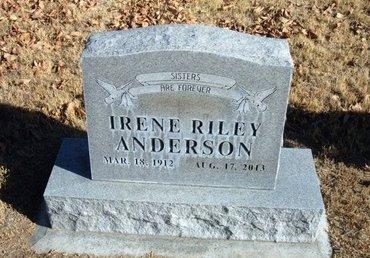 ANDERSON, IRENE - Morton County, Kansas | IRENE ANDERSON - Kansas Gravestone Photos
