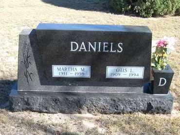 DANIELS, OTIS L,SR - Morton County, Kansas | OTIS L,SR DANIELS - Kansas Gravestone Photos