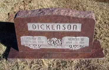 DICKENSON, FAIRY M. - Morton County, Kansas | FAIRY M. DICKENSON - Kansas Gravestone Photos