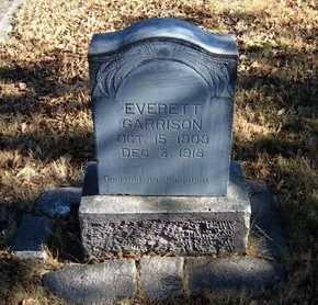 GARRISON, EVERETT - Morton County, Kansas | EVERETT GARRISON - Kansas Gravestone Photos