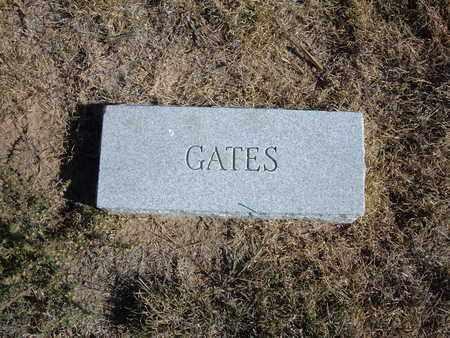 GATES, UNKNOWN - Morton County, Kansas   UNKNOWN GATES - Kansas Gravestone Photos
