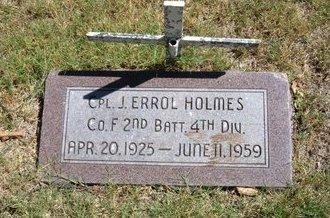 HOLMES, J ERROL   (VETERAN) - Morton County, Kansas | J ERROL   (VETERAN) HOLMES - Kansas Gravestone Photos