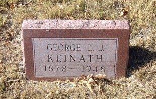 KEINATH, GEORGE L J - Morton County, Kansas   GEORGE L J KEINATH - Kansas Gravestone Photos