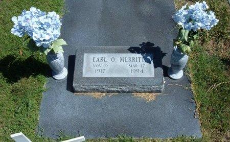 MERRITT, EARL O   (VETERAN WWII) - Morton County, Kansas | EARL O   (VETERAN WWII) MERRITT - Kansas Gravestone Photos